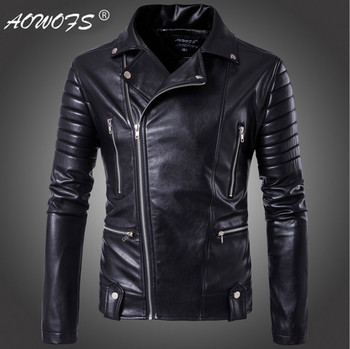 Europe and America Top Quality Slim Motorcycle Leather Jackets Youth Popular Bomber Jacket Big Size 5XL Men Leather Jackets