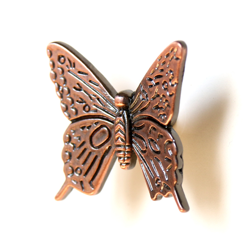 10pcs Antique Bronze Butterfly Cabinet Handle Drawer Dresser Pull ...