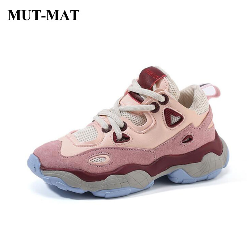 Children's  Sports Shoes  Boy's Casual  Shoes Mesh Lining Running Shoes Multi-directional Skid Sport Shoes