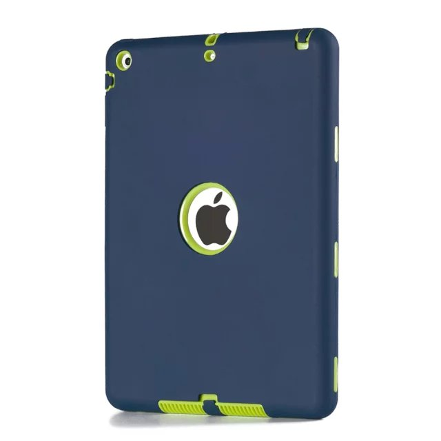 Vroče prodajno Coque torbica za iPad Air trpežna težka 3 v 1 - Dodatki za tablične računalnike - Fotografija 2