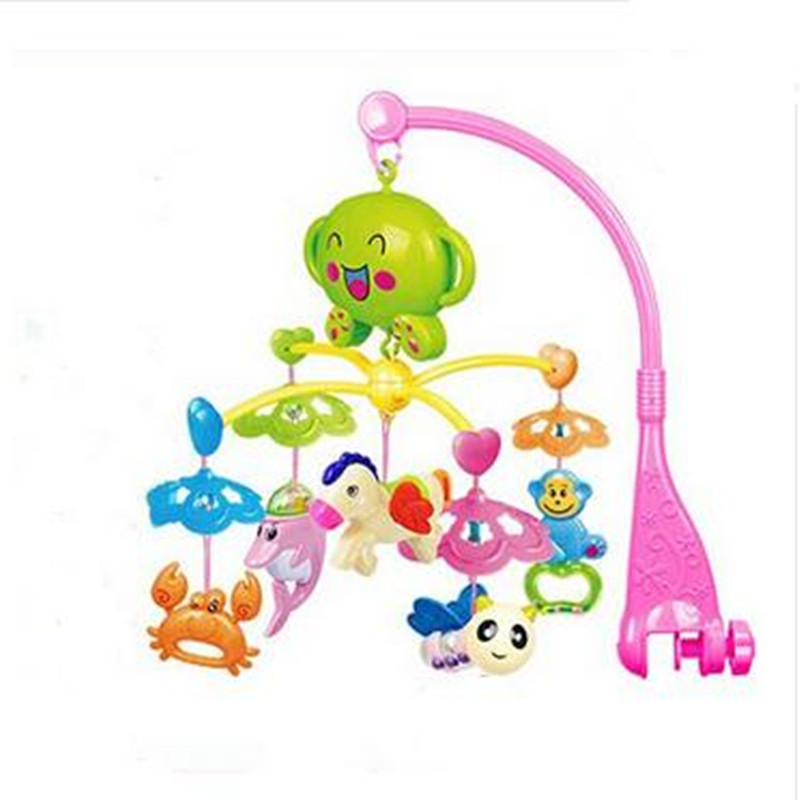 New Rattle Baby Toys 50 Music Rotating Musical Recreation Ground Baby Mobile Musical Bed Bell
