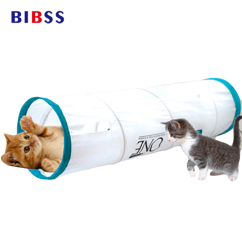 Multi-combination Shape Pet Tunnel Cat Play Tunnel Foldable Pet Animal Cat Kitten Play Toy Exercise Tunnel Cave Cat Toys