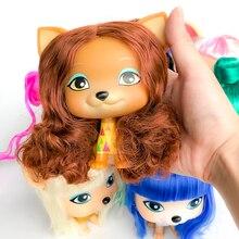 FGHGF encantadora muñecas del amor VIP perro con pelo juguetes de perro cachorro muñeca Mini colección limitada chico regalo Y19021601