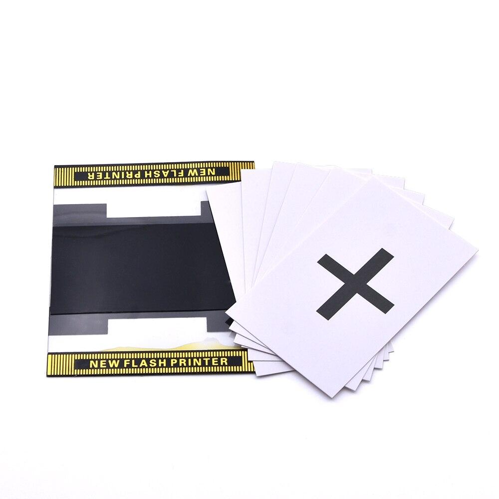 1set ESP New Flash Printer Magic Tricks Magician Predict The Select Card Magia Stage Close Up Gimmick Mentalism Flash ESP Card