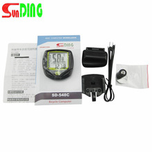 1 Set Waterproof Wireless Bicycle Cycling Sport Bike Computer Speedometer Odometer Hot Sale