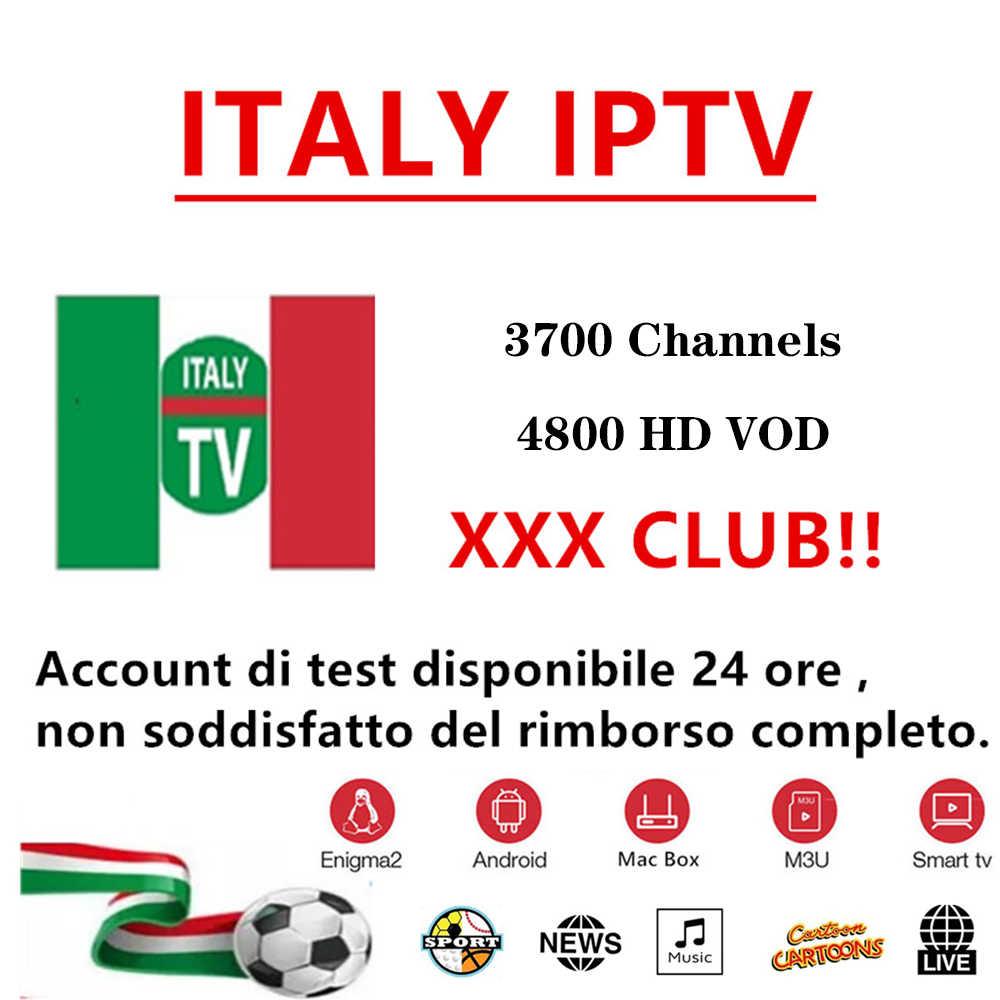 iptv Italia 1 year for Android tv box m3u smart tv Enigma2