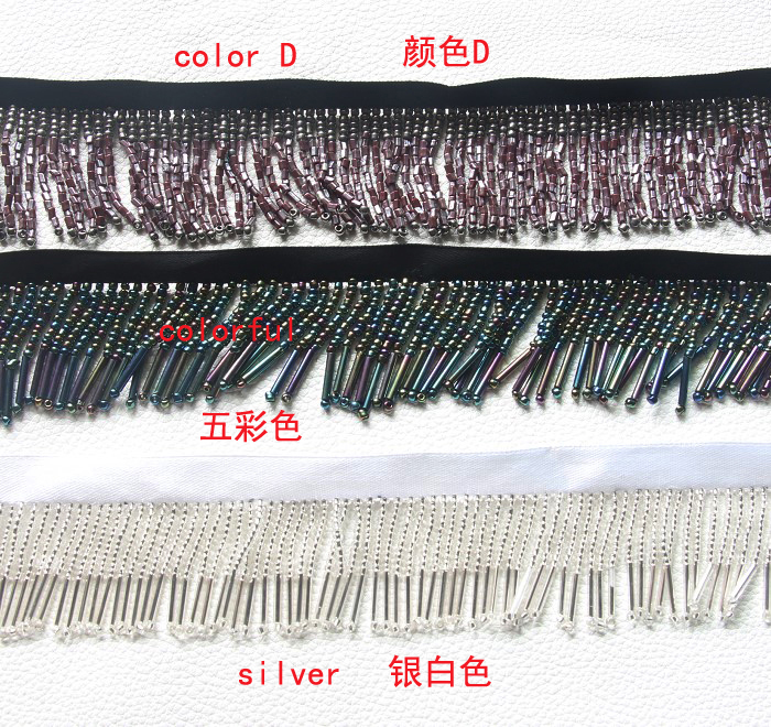 red MIPPER 10 Yards of Polyester Fringe Trim 8 Inch Wide for Clothes Dress Dance Costume Sewing DIY Crafting Home Decoration