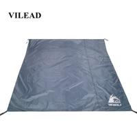 VILEAD Portable Camping Mat 195*195 cm Oxford Waterproof Ultralight for Picnic Camp Beach Hiking Bushcraft Travel Sleeping Pad