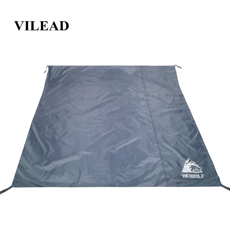 VILEAD Portable Camping Mat 195*195 cm Oxford Waterproof Ultralight for Picnic Camp Beach Hiking Bushcraft Travel Sleeping Pad-in Camping Mat from Sports & Entertainment