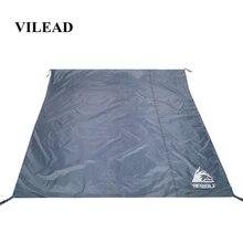 цена на VILEAD Portable Camping Mat 195*195 cm Oxford Waterproof Ultralight for Picnic Camp Beach Hiking Bushcraft Travel Sleeping Pad