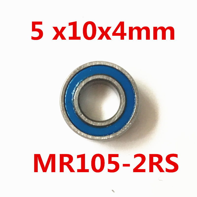 Free shipping  AXK MR105RS Bearing ABEC-5 (10PCS) 5X10X4 mm Miniature MR105-2RS Ball Bearings  MR105RS L1050 modern led crystal ceiling light surface mounted style ceiling lamp lighting fixture for aisle entrance corridor living room
