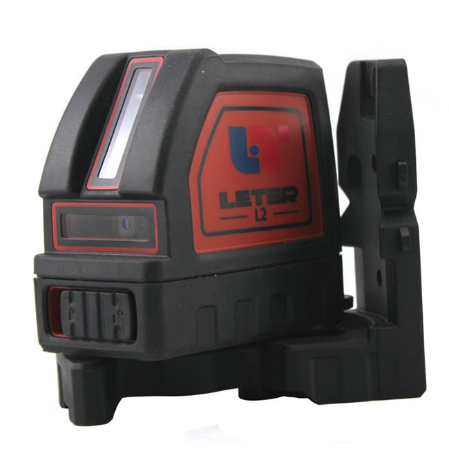 Laser Level LETER-L2 SELF LEVELING Cross Line Laser with Magnetic Pivot Bracket Free Shipping BY EMS/DHL