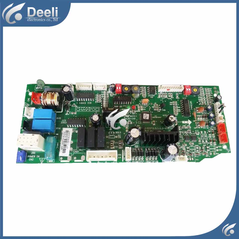 95% new good working for  central air conditioner motherboard pc board MDV-D22T2(RoHS) MDV-D22T2.D.1.1.2-1 motherboard for ci7zs 2 0 370 industrial board ci7zs 2 0 original 95%new well tested working one year warranty