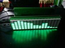 Indicador de nível de áudio espectro música vu medidor placa amplificador estéreo luz ajustável velocidade placa com modo agc kits diy