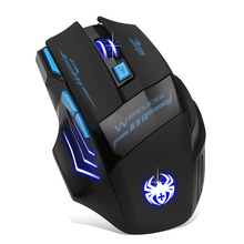 Mosunx Mouse 2 4GHz 3200DPI Wireless Optical Gaming Mouse Mice For Computer PC Laptop td0105 dropship