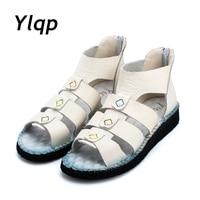 Ylqp scarpe casual appartamenti estivi scarpe sandali Romani per le donne Fashion 2017 Nuove Scarpe Sandali da Donna zapatos mujer