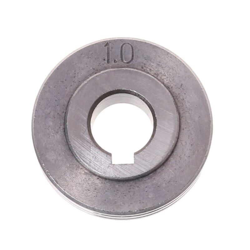Draht Feeder Rad Roller Doppel Größe MIG Schweißer Schweißen Draht Fütterung Maschine 0,8-1mm