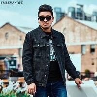 6eaec38a3ecb New Trend In 2019 Fashion Men Denim Jackets Black Color Plus Size 2XL 6XL  Fashionable Jean