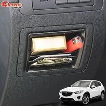 Compartimento de almacenamiento interno para coche Mazda CX 5, CX5 KE, 2012, 2013, 2014, 2015, 2016, organizador Central, estante, cubierta de contenedor, accesorios para coche