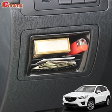 For Mazda CX 5 CX5 KE 2012 2013 2014 2015 2016 Inner Central Control Storage Box Organizer Shelf Container Cover Car Accessories