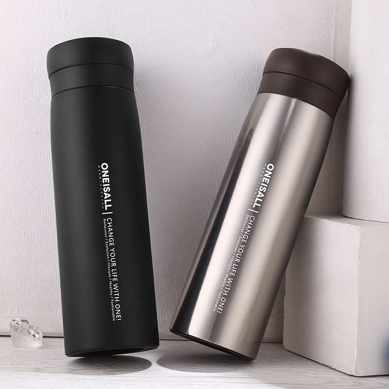 Men Gift Stainless Steel Thermos Cup Insulated Thermo Mug
