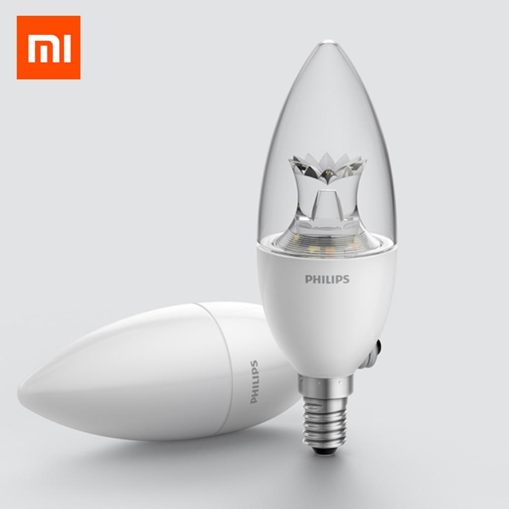Original Xiaomi Mijia Smart E14 LED Bulb ,white And Warm Light ,for Xiaomi Smart Home Kit Wireless Wifi Control By Mi Home App