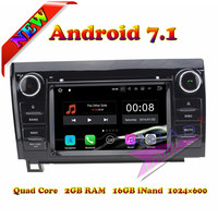 Wanusual 2G+16GB Android 7.1 Car DVD Player For Toyota Tundra 2007 2013/Sequoia 2008 2006 2007 2008 2009 2010 2011 2015 GPS Navi