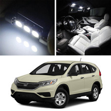 Canbus LED Lamp Interior Map Dome Trunk Plate Light Bulbs For Honda CR-V 2013-2019 недорго, оригинальная цена