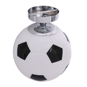 Image 5 - Glass Footaball Soccer Ceiling Lamp Flush Mount Pendant Light Shade Chandelier Fitting LED Bulb/Energy Saving Lamp/Incandescent