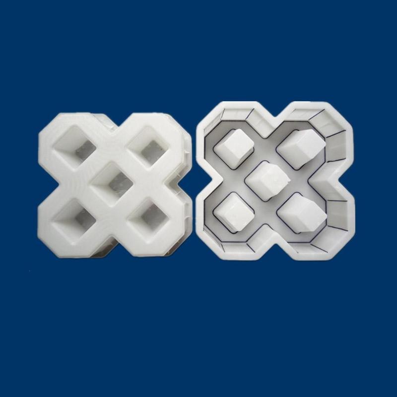 cheapest Garden DIY Plastic Mold Path Pavement Model Concrete Stepping Stone Cement Brick Maker JAN88