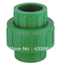 Free Shipping Green Enviroment friendly Butt Fusion PPR New Unions DN20 Fitting Connector for Farm water pipe garden irrigation