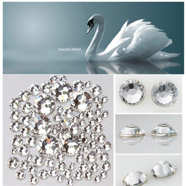 ss3/ss4/ss5/ss6/ ss8 /ss10 /) Small Size Nail Art Rhinestone Crystal ...