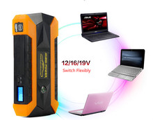 Waterproof Multi-Function 89800mAh Car Jump Starter 12V Starting Device Mobile 4USB Power Bank Compass SOS Lights