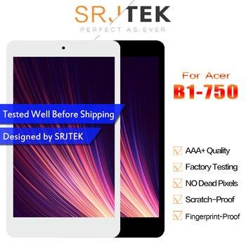 Para Acer Iconia one 7 B1 750 B1-750 Painel da Tela de Toque Digitador Assembléia Sensor + Display LCD Monitor de Painel Moudle