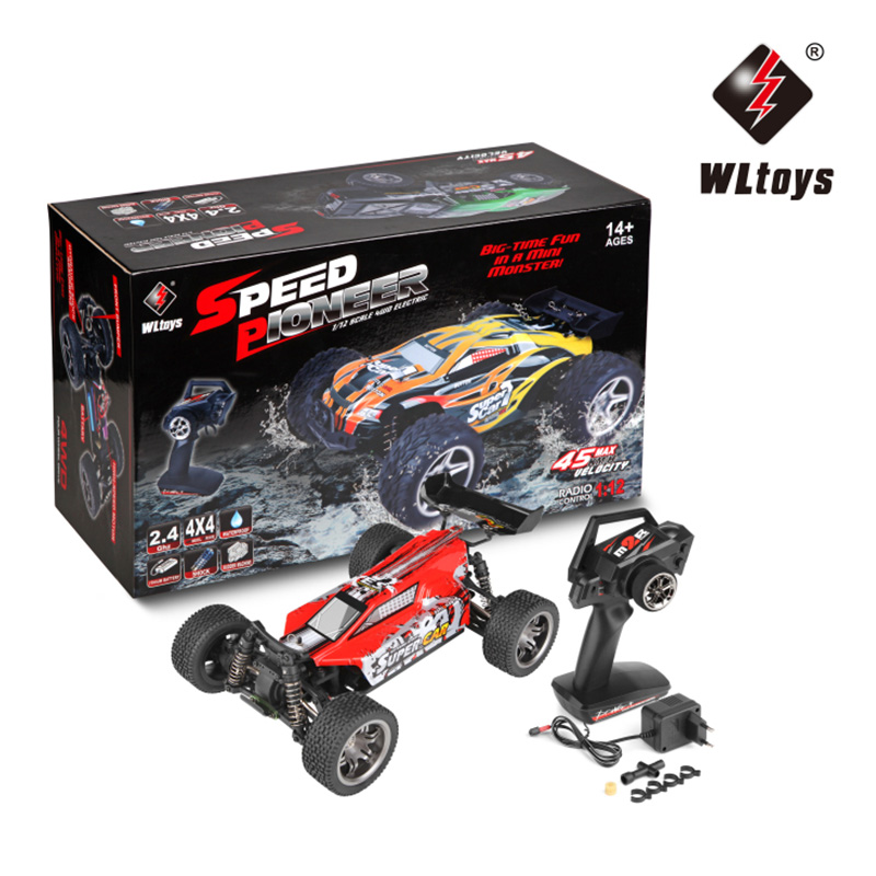High Speed WLtoys 12401 RC Cars 1/12 4WD Remote Control Drift Off-road Rar Crawler RC Car RTR 2.4GHz Racing Radio Control Cars