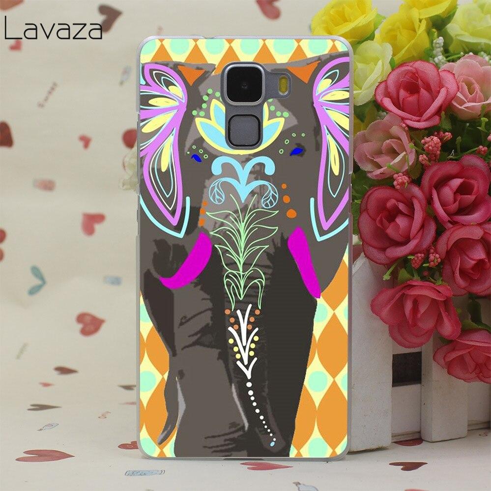 Lavaza довольно Слоны телефон жесткий футляр для huawei P smart P20 P10 P8 P9 lite mini Plus Pro 2015 2016 2017