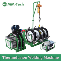 SWT B630/315HC & SWT B250/63H PE PIPE WELDING MACHINE/ SUPPORT ROLLER/ NARROW CLAMPS FOR MR.ANTON