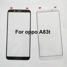 Para Oppo A83t UM 83 t OppoA83t Grand Max Tela Do Painel de Toque Touchscreen Do Painel de Toque Digitador Sensor de Vidro Sem Flex
