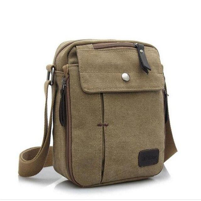 2016 дизайнер холст мужской портфель плеча сумки мини карманный бизнес сумка марка старинные мыть сумки 17 т