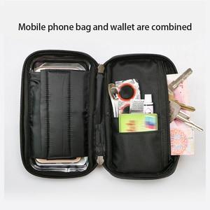 Image 5 - 6 inch Fiets Mobiele Telefoon Houder Waterdicht Bike Case Stand Motorfiets Stuur Mount Tas voor iphone Samsung HUAWEI xiaomi