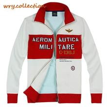 AERONAUTICA MILITARE Hoodies,Teenager hoody, hoodies men, outdoors ,rib cotton coat man plus XXL Free Shipping