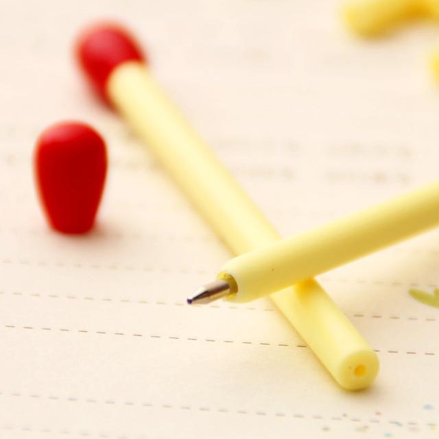 10 Pcs 2018 new Creative Match Pen Novelty Ballpoint Pens Stationery Ballpen Stylus Pen Oily blue Refill 0.5 mm free delivery Banner Pens