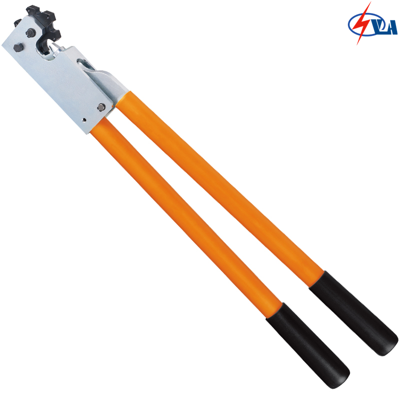 цена на KH-95 16-95 mm2 copper tube cable terminal crimping tool for non-welding and standard electrical connection