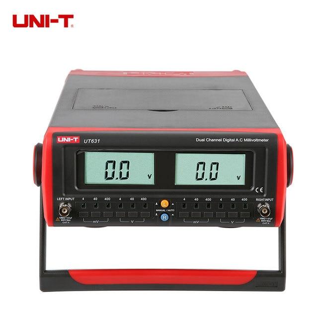 Digital Millivolt Meter : Uni t ut dual channel digital display ac millivolt