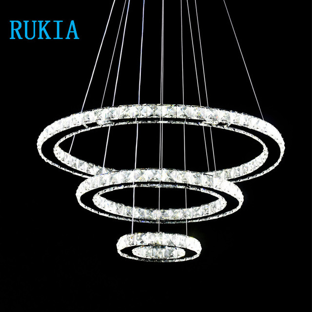 RUKIA LIGHT Hanging Ceiling Fixtures Modern LED Crystal Lights Lamp For Living  Room Cristal Lustre Pendant Part 94