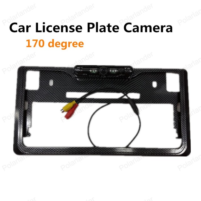 hot sell 170 degree view angle Japanese License Plate Frame Rear ...