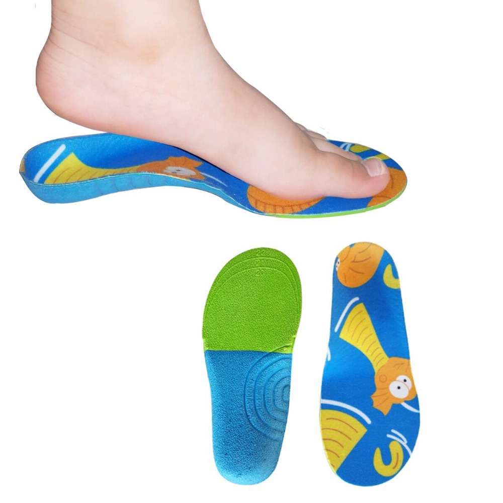 2017 EVA Kids Child orthopedic insole orthotic arch support shoes sole Children flat foot shoes Pads Correction feet LC-00183 kids children pu orthopedic insoles for children shoes flat foot arch support orthotic pads correction health feet care w046
