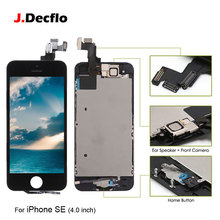 цены на For iPhone SE LCD Display Touch Screen Digitizer Full Assembly Replacement+Home Button+Front Camera+Ear Speaker with tools  в интернет-магазинах