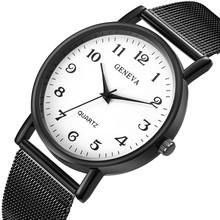 Watch Men Luxury Quartz Sport Stainless Steel Band Dial Analog Alloy Classic Quartz Wrist Watch Male Clock Relogio Masculino P40