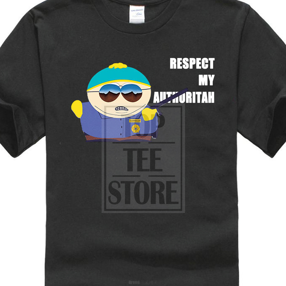 Design A Shirt South Park Cartman Respect My Authoritah Funny